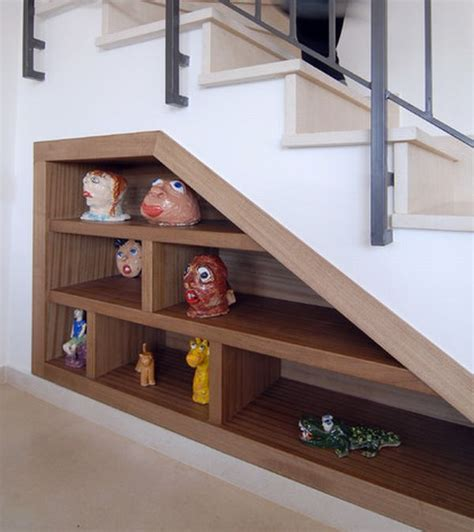 7 ideas for decorating under the stairs storage space under stairs with eclectic decor decoist