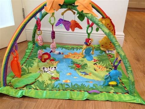 fisher price rainforest play matbaby for sale in