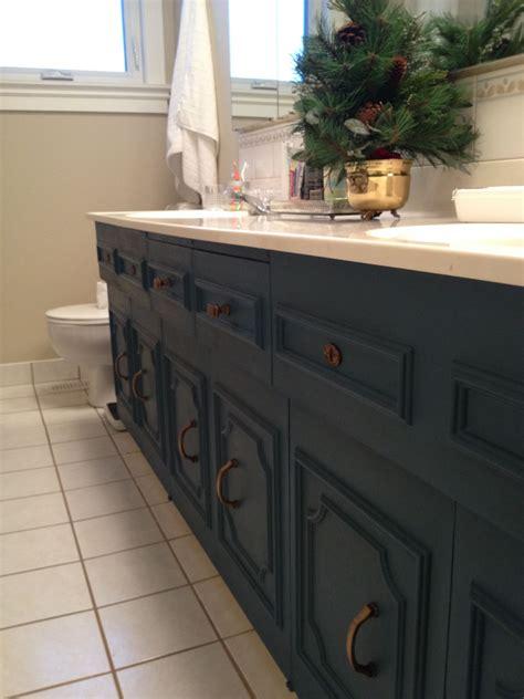 Sloan Bathroom Vanity - bathroom vanity painted aubusson blue sloan s chalk