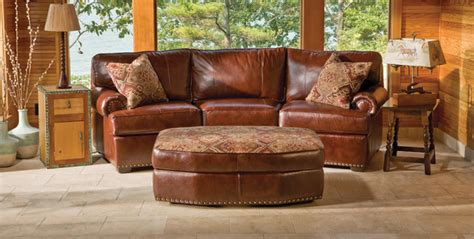 Rustic Leather Living Room Furniture Rustic Leather Living Room Furniture Rustic Sofas By Kloter Farms