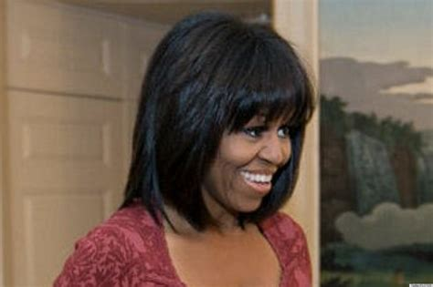 michelle obama hair pieces popular hairstyles changing the locks