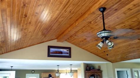 T G Wood Ceiling by Need Input For What Type Of Wood For Ceiling