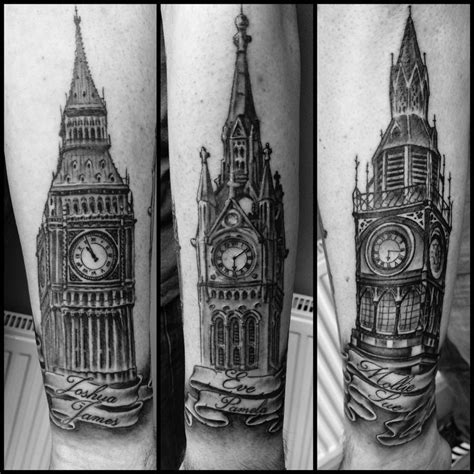 big ben tattoo clocktower big ben tattoos big ben