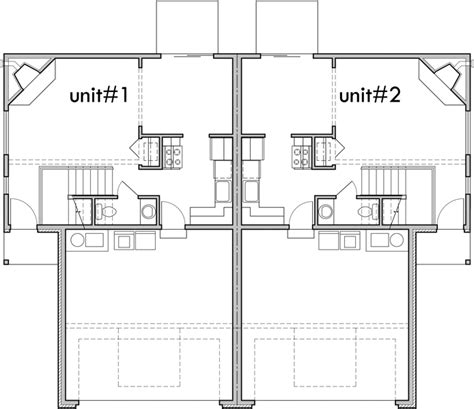 Duplex House Plans 3 Bedroom Duplex Plans Two Story Dupex Duplex House Plans With 2 Car Garage