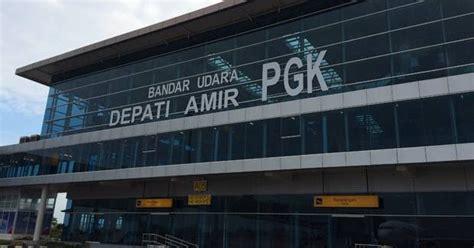 Terminal Baru Bandara Depati Amir Pangkal Pinang