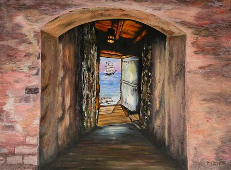 Door Of No Return by Door Of No Return Painting By Tony Vegas