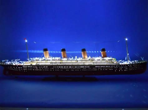 titanic picture of boat titanic model ship go nautical