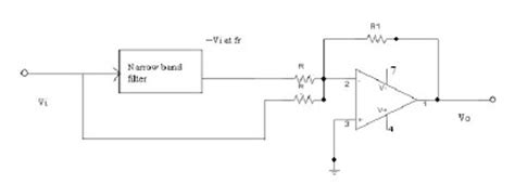 notch filter integrated circuit operational lifiers and linear integrated ckt