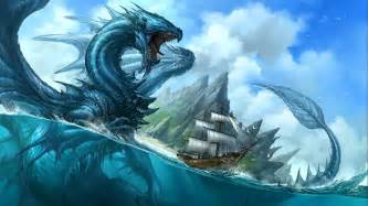 giant sea dragon