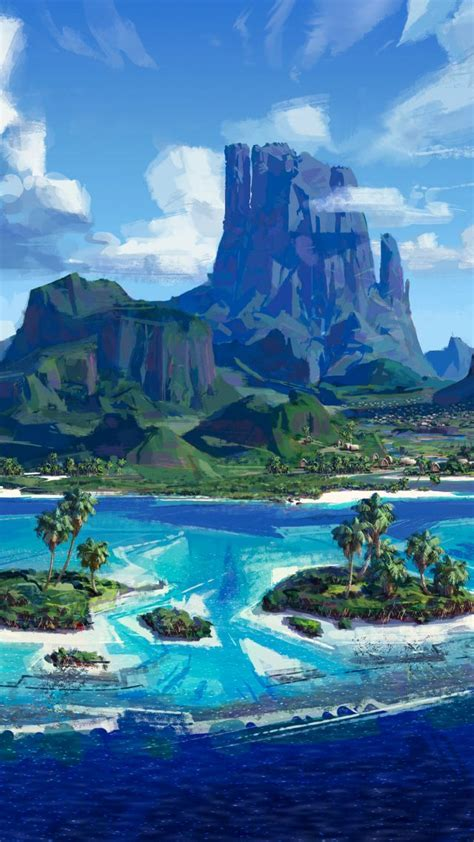 wallpaper moana island best animation movies of 2016