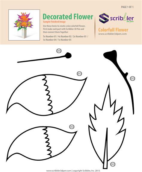 3d printer pen stencils flower for box jpg presents 3d pen pinterest 3d pen