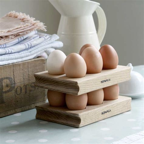 Egg Rack by Oak Wooden Egg Racks