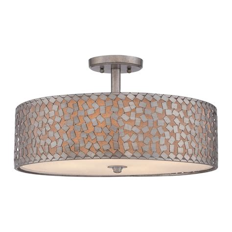 Large Ceiling Lights Flush Mount Quoizel Ckcf1720os Confetti Large Semi Flush Mount Ceiling Light Lowe S Canada