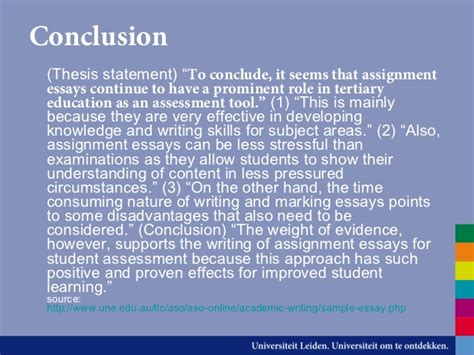 Thesis Conclusion Guide by Academic Writing Conclusion Phrases