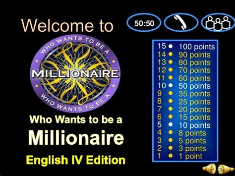 who want to be a millionaire template powerpoint with sound who wants to be a millionaire powerpoint template best