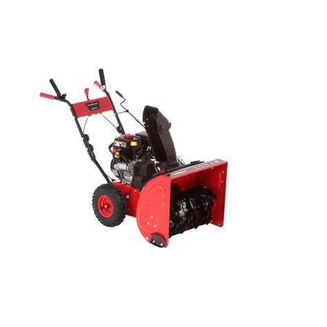 powersmart 24 in 212cc 2 stage gas snow blower home