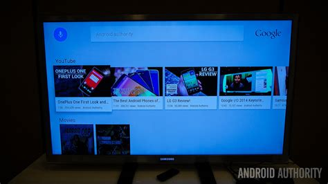 samsung android tv android tv on demo what can we expect