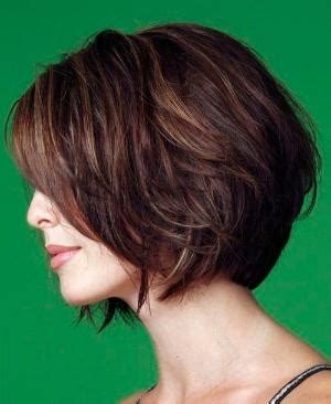 neck length layered bob | popular haircuts