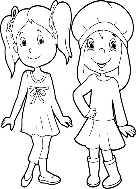 beautiful coloring pages friends beautiful coloring page