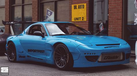 rocket bunny rx7 nextmod mississauga x scion meet