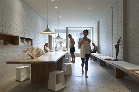 Design Home Yoga Studio by One Yoga Studio By Rob Mills Melbourne 187 Retail