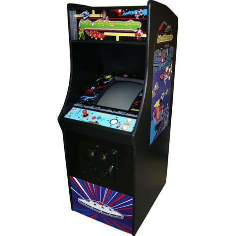 Multi Arcade Cabinet by Size Midway Style Cabinet W 19 Quot Led Monitor Pb J