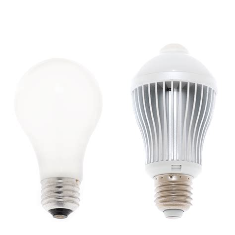 Led Motion Sensor Light Bulbs 6 Watt Led A19 Globe Bulb With Motion Sensor Motion Sensor Lights Led Home Lighting