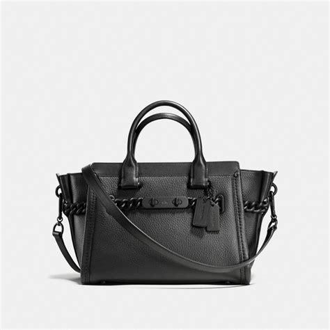Promo Tas Bag Coach Swagger 3251 coach swagger 27 bag in matte black black modesens