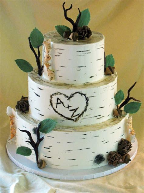 cake gallery cakes 187 wedding cakes 187 birch tree theme