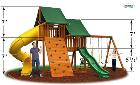 swing set height sky swing set 6 sky playset 6 eastern jungle gym sky 6