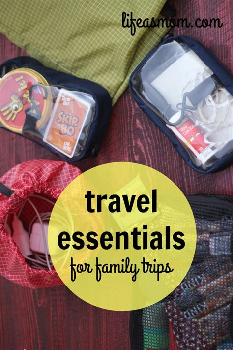 Cabin Cing Packing List by Family Packing Essentials Travel Essentials For Family