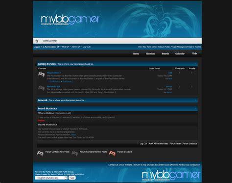 mybb themes mybb mods mybb gamer