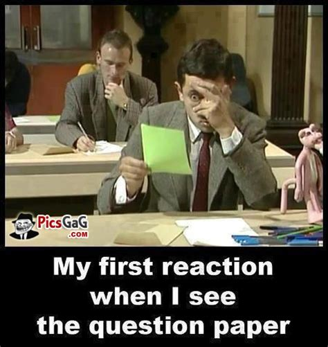 Exam Meme - exam meme funny reaction to see question paper which make