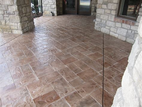 concrete patio resurfacing sted concrete overlays st louis mo
