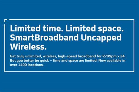 Wifi Unlimited Telkom telkom s smartbroadband uncapped wireless is unlimited