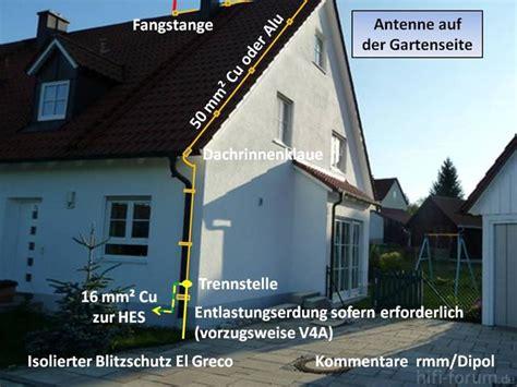 Blitzschutz Einfamilienhaus Kosten by Blitzschutz Antenne El Greco Antenne Blitzschutz El