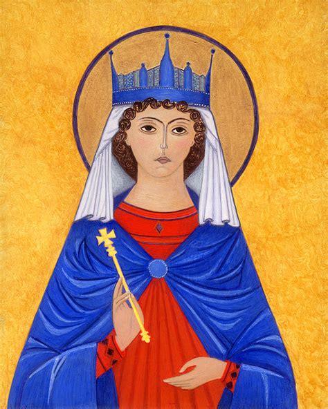 St Jackie katherine painting by jacqueline savidge