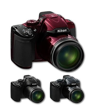 Kamera Nikon P520 Terbaru nikon coolpix p520 digitalkamera 3 2 zoll schwarz