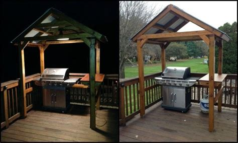 how to build a backyard grill build a grill gazebo for your backyard diy projects for