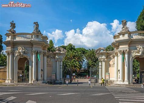 ingresso villa borghese l ingresso monumentale bioparco di roma foto