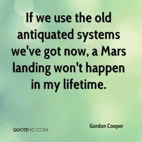 Weve Got Legs And We How To Use Them by Gordon Cooper Quotes Quotesgram