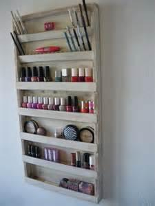Maquillaje organizador de almacenamiento de rack de esmalte de u 241 as