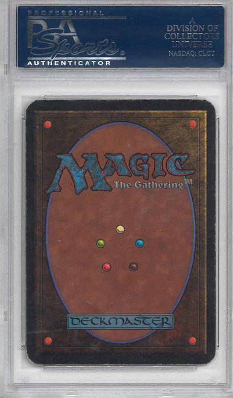 alpha lotus magic the gathering magic the gathering alpha single black lotus psa 5 da