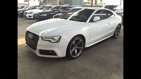 Audi A5 In White by Audi A5 2 0 Tfsi S Line Black Edition Quattro Coupe
