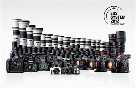 canon system canon celebrates 25 years of the eos system canon