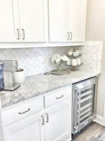 White Tile Backsplash Kitchen Beautiful Homes Of Instagram Home Bunch Interior