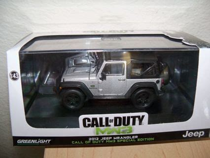 call of duty jeep green free greenlight collectibles call of duty mw3 special