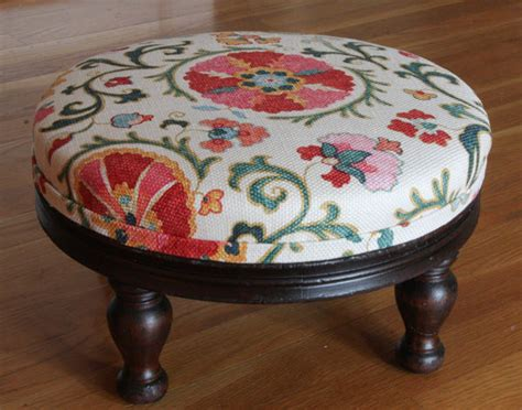Footstool Upholstery by Reupholster A Footstool
