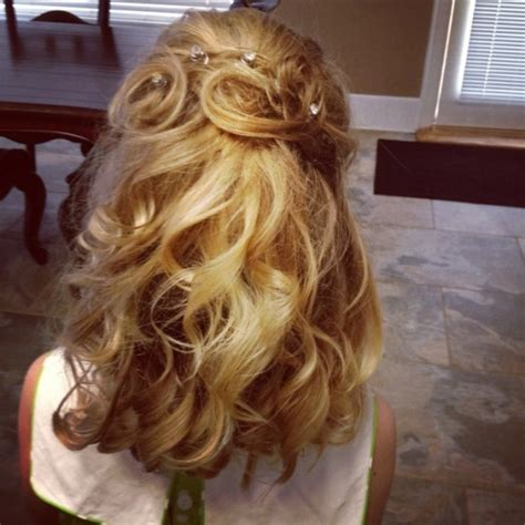 pageant hair on pinterest formal hair pageants and updo little girl pageant hair hair styles little girl