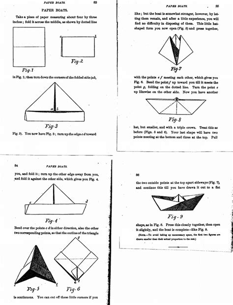 Folding Paper Boat - when to fold em